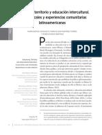 Bertely Autonomía, Territorio y Educación Intercultural.