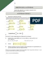 Actividad Unidad 2 Cálculo Integral