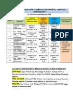 Curso de Cocina Saludable en Regiones, Viña, Santiago y Chillán