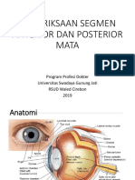 Pemeriksaan Segmen Anterior Dan Posterior Mata (Edit)
