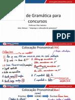 Aula 29 - Emprego e Colocação Dos Pronomes II