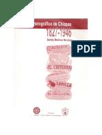 Índice hemerográfico de Chiapas