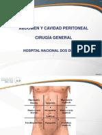 Abdomen y Cavidad Peritoneal 1