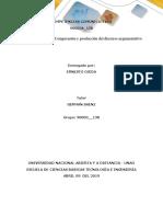 Unidad 2 - Taller 4 - Comprensión y Producción Del Discurso Argumentativo Ernesto Ojeda
