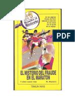 (Resuelve el misterio 06) El misterio del fraude en el maraton (Blog La fortaleza de manpang)