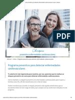 Programa Preventivo Para Detectar Enfermedades Cardiovasculares _ Isapre Colmena