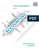 Accounting Assigment Report