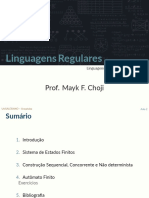 Linguagens Regulares