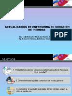 Salta 2017 Lic. Atanacio Cuidados de Enfermería en Curación de Heridas