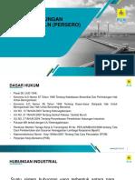 Materi Pembinaan Hubungan Industrial