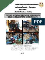 ESTUDIO DE CARACTERIZACIÓN DE RESIDUOS SOLIDOS DEL DISTRITO DE CCARHUAYO - 2015.docx