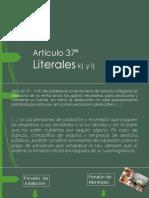 Analisis de los literales k) y l) del artículo 37° del Codigo Tributario Peruano