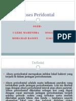 Abses Peridontal Fix.ppt