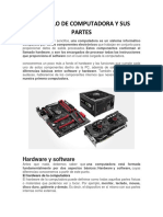 Articulo de Computadora y Sus Partes