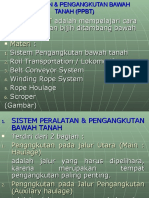 Peralatan & Pengangkutan Bawah Tanah (PPBT)