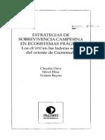 Estrategias de sobrevivencia campesina en ecosistemas frágiles DARY ET AL 1998.pdf