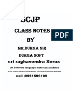 SCJP_OCJP Core Java By DURGA SIR.pdf