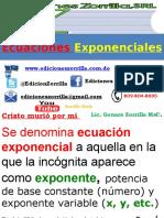 0 Ecuaciones Exponenciales Aplicaciones