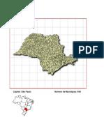 Mapa e Municípios de SP