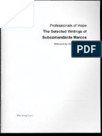 Subcomandante Marcos - Professionals of Hope_ The Selected Writings of Subcomandante Marcos-The Song Cave (2017).pdf