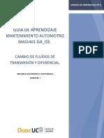 ._GUÍA N°9 MAS-1401 LISTA DE PARÁMETROS GENERALES Y VERIFICACIÓN DE CÓDIGOS