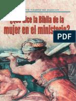 Serie Tiempo de Buscar ¿Que Dice La Biblia de La Mujer en El Ministerio Martin R. de Haan-1