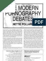 The Modern Pornography Debates