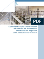 ONU - Conscientização Sobre o Local de Crime e as Evidências Materiais Em Especial Para Pessoal Não-Forense