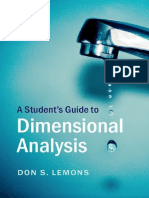 A Student's Guide to Dimensional Analysis.pdf