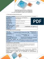 Guía de Actividades y Rúbrica de Evaluación - Fase 2. Plantear Hipótesis Frente a Las Causas de Un Problema