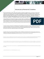 Analisis Del Discurso Correista