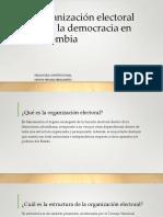 Organización Electoral Para La Democracia en Colombia