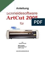 Artcut-Anleitung