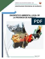DIAGNÓSTICO AMBIENTAL LOCAL DE LA  PROVINCIA DE HUANUCOO.pdf