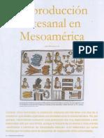 Manzanilla Linda-La Producción Artesanal en Mesoamérica