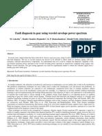 2 Journal1-Fault Diagnosis in Gear Using Wavelet Envelope Power Spectrum Ijest Paper