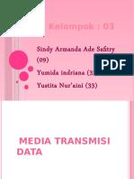 3 Media Transmisi Data