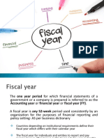 Ppt Fiscal Year[2611]