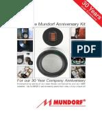 Mundorf MA30 Catalog