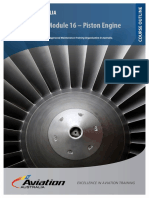 Aviation Australia CASR Part 66 Module 16 Piston Engine Course Outline