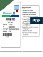 Contoh kartu BPJS