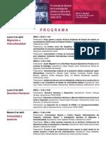 Programa Jornada Psicologia UCSH 2019