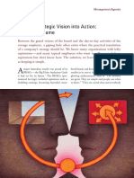 Turning Strategic Vision Into Action