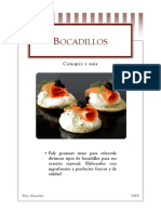 Catalogo Canapès