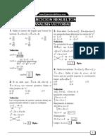 Analisis Vectorial Ejercicios Resueltos