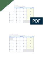 Calendario Likan Enero Julio2019