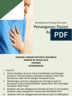 penanganan pada pasien asma