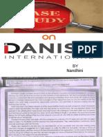 Mrm Ppt Danish International