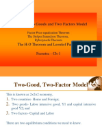3. H-O Theory, Stolper Samuelson, Rybezynschi Theorom