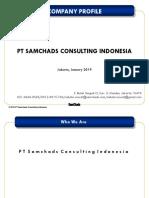 Company Profile Samchads Consulting 2019